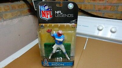 WARREN MOON nfl legends 5 MCFARLANE  HOUSTON OILERS NEW