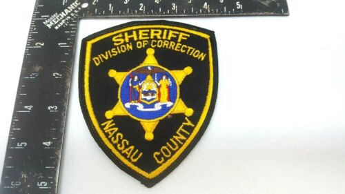 Vintage Nassau County Sheriff Division of Correction New York NY Police Patch