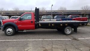 2007 Ford Super Duty F-550 4X4 16 FT DUMP FLAT DECK