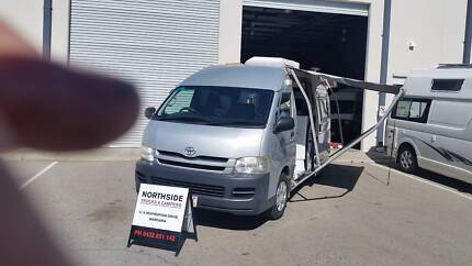 TOYOTA HIACE MOTOR HOME AUTO DIESEL RARE low74313KM TOILET SHOWER Wangara Wanneroo Area Preview