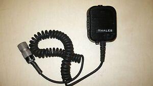 Otto Mic Thales 23386 1600469-4 Handheld Speaker Mic Thales PTT Harris Radio PTT