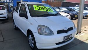 2001 Toyota Echo Hatchback ! Fully Serviced & Inspected ! Like New ! Granville Parramatta Area Preview