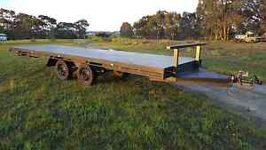 New 6.5m flat deck tandem trailer Kangaroo Flat Bendigo City Preview