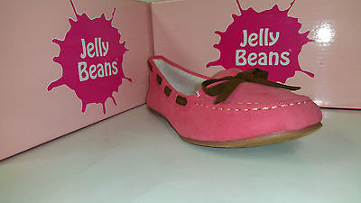 Jelly Beans Heart Girls Shoes Black / Beige / Brown / Coral / Green Bow Size 9-4 - Black Jelly Beans