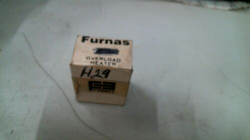 FURNAS H29 OVERLOAD HEATER ELEMENT -FREE SHIPPING