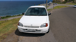 1998 Toyota Starlet great condition, good first car cheep on fuel Newcastle Newcastle Area Preview