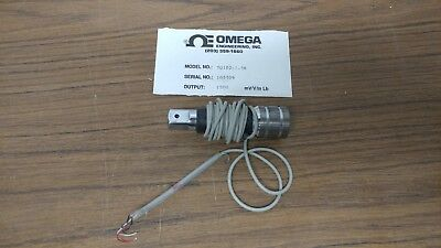 Omega Torque Transducer Sensor 12 Drive Extension Tq102-1.5k 1500 Mvvin-lb