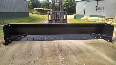 Linville 16 Backhoe And Loader Snow Pusher Plow Free Shipping American Made Usa
