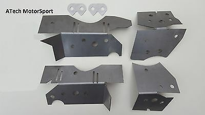 BMW E46 Chassis Subframe Floor Repair Reinforcement Plate Kit M3 330 320 325 318