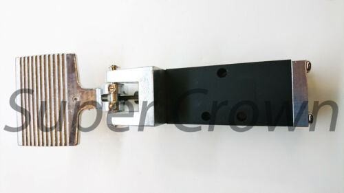 """Foot Pedal Control Valve 2 Position 5 Port 1/4"""" Thread Air Pneumatic Switch 403S"""