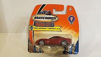 Matchbox  Mattel - 2005 Chevrolet Corvette C6