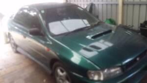 1997 Subaru WRX Sedan unlicensed Kwinana Beach Kwinana Area Preview