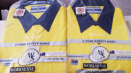 Saftey shirts 2 long sleeve  NEW