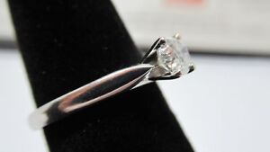 Diamond solitaire/engagement ring/promise ring