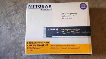 Netgear FVS124G ProSafe Dual WAN VPN Gigabit Firewall