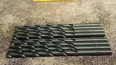 (8) MORSE 11433 #10 Jobber Length Drills 10 Jobber Length Drills