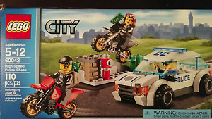Lego City High Speed Police Chase Set--60042
