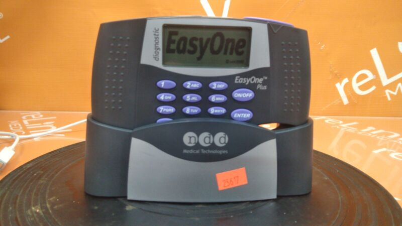 NDD Medical Technologies Inc EasyOne Air 2010 Diagnostic Spirometry System