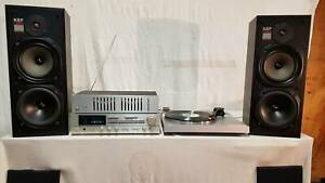 Vintage 1980's HiFi Stereo System