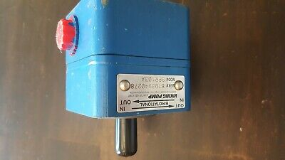 Viking Spur Gear Spr103a Birotational Pump. Bx120
