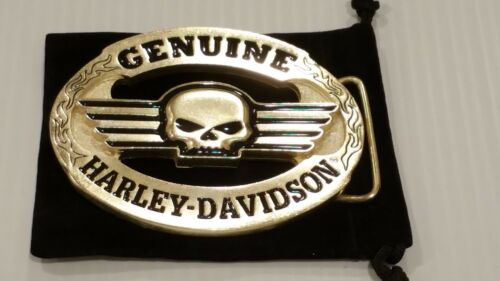 Willie G Harley Davidson Belt Buckle