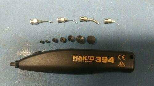 Hakko 394 Vacuum Pickup Solder Rework Tool With Tips