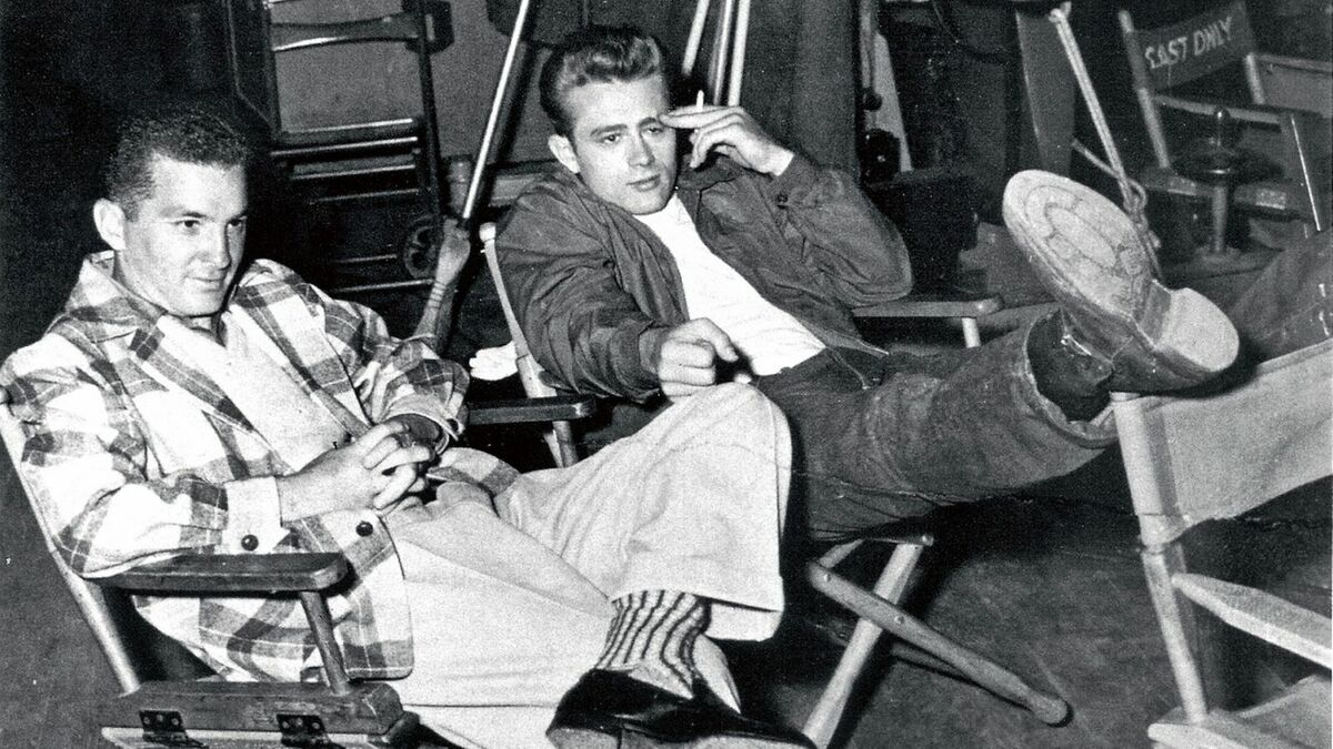 James Dean und Lew Bracker