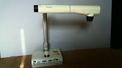 Elmo Tt-02rx Document Camera Visual Presenter Used