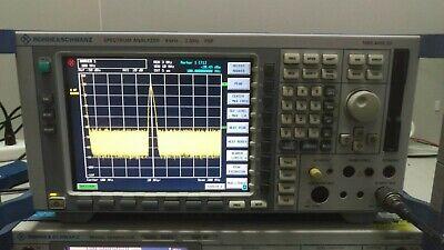 Rohde Schwarz Fsp3 Spectrum Analyzer 9khz To 3ghz Opt Fsp-b4 Af Output