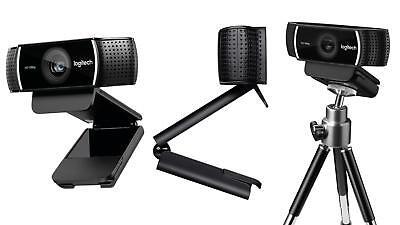 Logitech C922 1080P HD Pro Stream Webcam with Tripod 960-001087