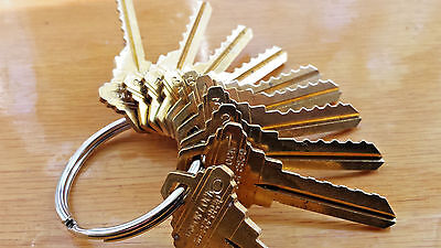 Locksmith Space Depth Keys-schlage Sc9-sc4-10 Keys Total-cut On Hpc1200