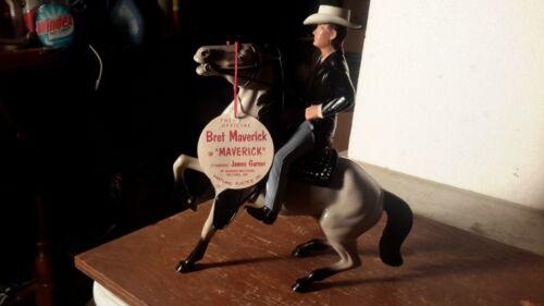 "Hartland Original 1960s ""MAVERICK"" w/Gray Horse Western Plastic Models"