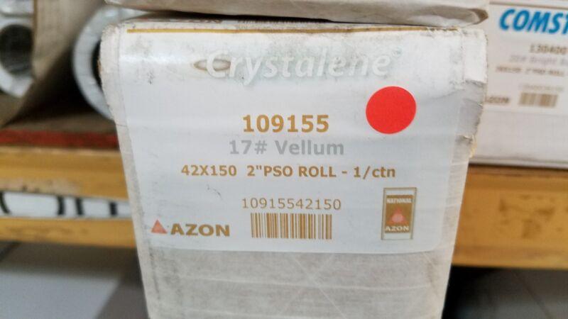 "Crystalene 17 lb Vellum 42""x150"