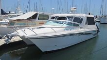 Powercat 3100 Sports Cruiser with twin 300HP 4 Stroke Suzuki's Molendinar Gold Coast City Preview