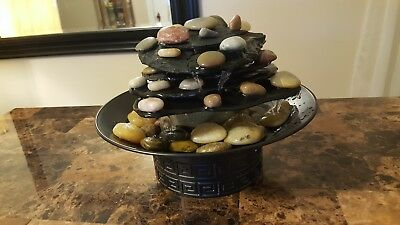 HoMedics Envirascape Rock Garden Tabletop Relaxation Fountain.