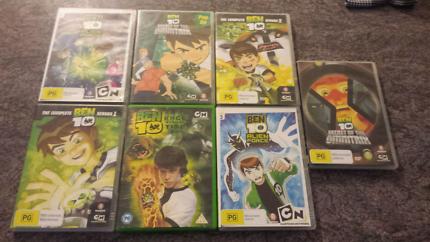 Ben Ten DVD Collection