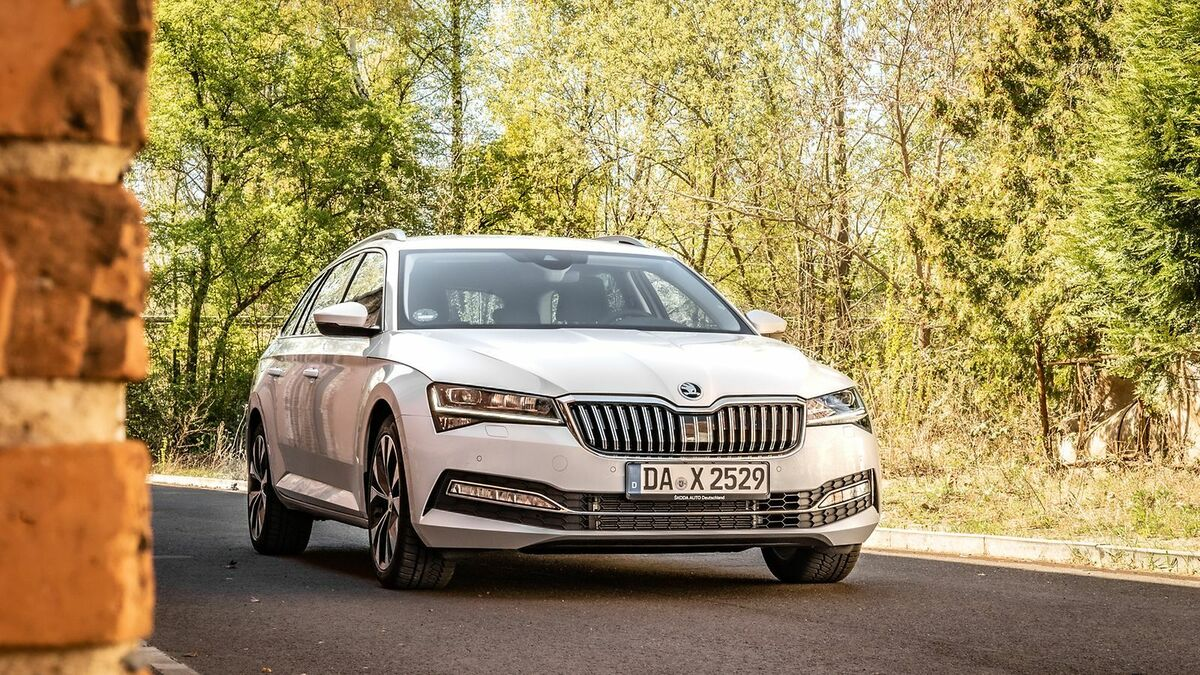 Skoda Superb 3 (2019) Test  10