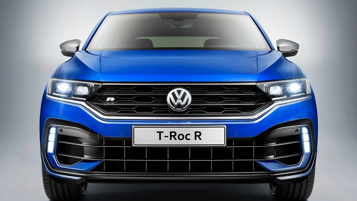 VW T-Roc R frontal