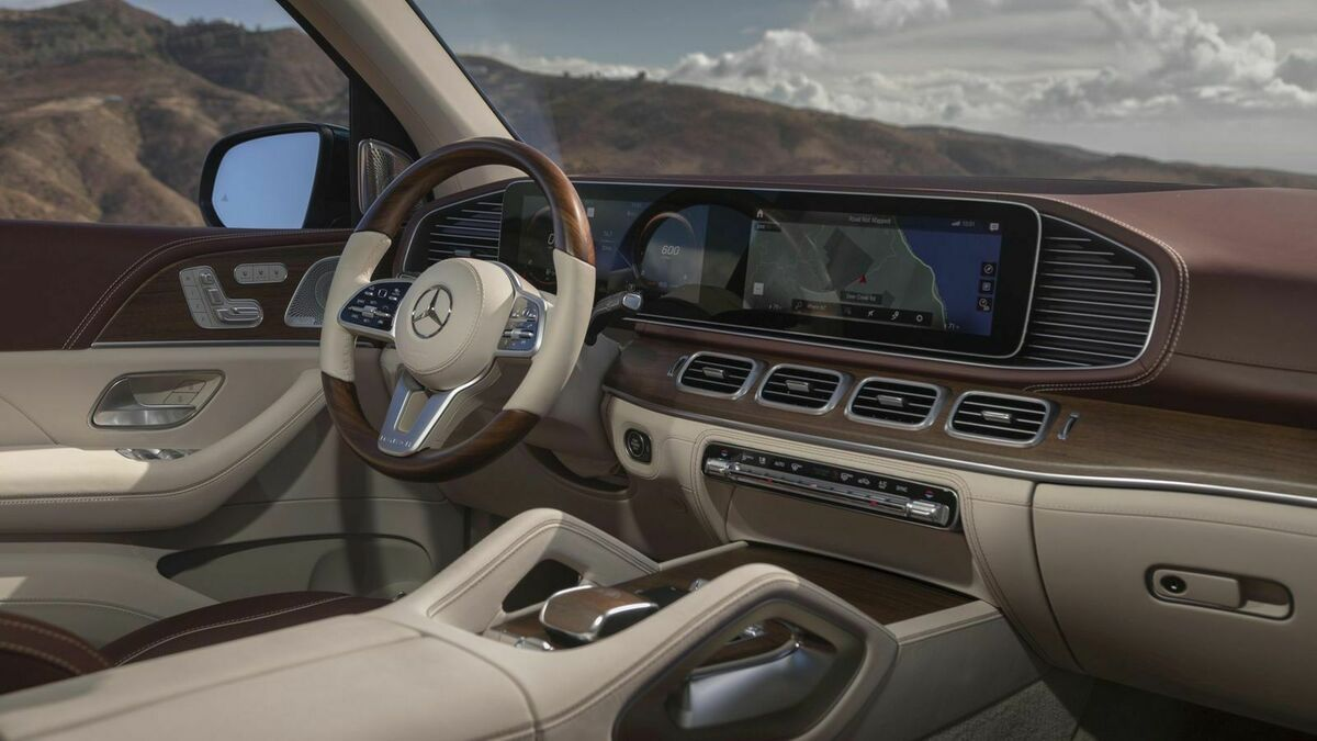 Mercedes-Maybach GLS Cockpit