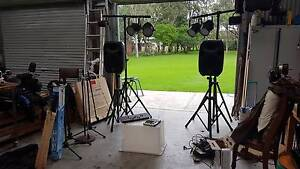 Full DJ/PA setup speakers and lights Dapto Wollongong Area Preview