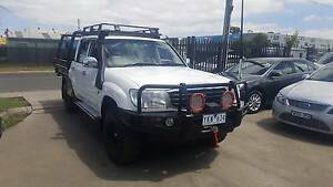 2000 Toyota Landcruiser GXL DUEL CAB TRAY UTE LOTS OF EXTRAS Williamstown North Hobsons Bay Area Preview