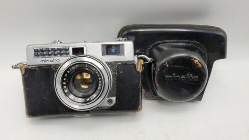 Minolta Minoltina AL-s 35mm Rangefinder Camera - Rokkor QF 40mm F1.8 Lens + Case
