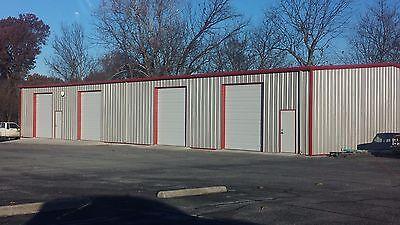40x45x10 Steel Garage Building Kit