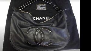 Auth CHANEL CRUISE COLLECTION 2008 MODERN CHAIN Handbag/ Hobo/ Bag