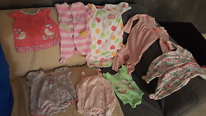 Winter and summer girl  clothes   0000 to 3 months Beckenham Gosnells Area Preview