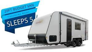 (Finance Available) 20ft Family Van Transforma - Budget Layout Kangaroo Flat Bendigo City Preview