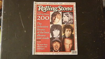 AUSTRALIAN ROLLING STONE MUSIC MAGAZINE, JUL 1997, 200 BEST ALBUMS EVER
