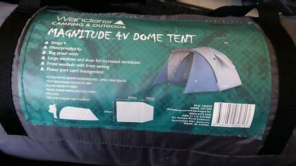Wanderer 4V Dome Tent, used once.
