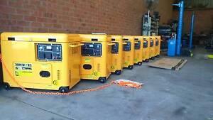 Generators petrol and diesel  6kva to 8kva Mount Barker Mount Barker Area Preview