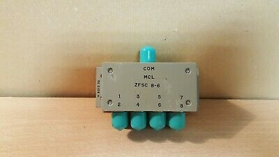 Mini-circuits Laboratory Zfsc 8-6 Power Splittercombinerscientific Components